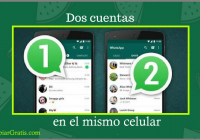 dos whatsapp en el mismo celular