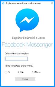 Aquí tiene los prerrequisitos para espiar las actividades de otra persona en Facebook Messenger: