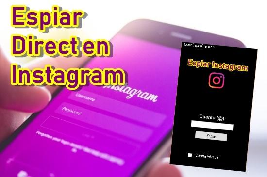 espiar direct instagram